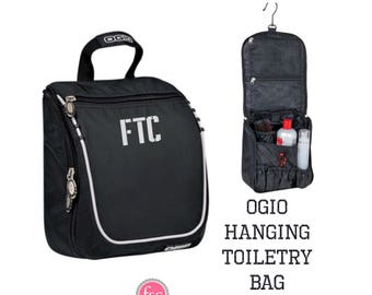 OGIO Hanging Toiletry Bag , Groomsman Gifts , Mens Dopp Kit , Groomsmen Travel Bag, Mens Toiletry Bag , Mens Shaving Bag