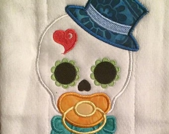 Baby Boy sugar skull 4x4 Pes, Dst, Hus, Vip and Jef