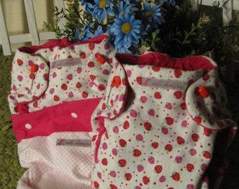 Strawberry Diaper Set