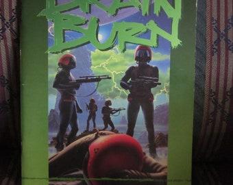 Vintage Brain Burn Shatterzone West End Games RPG Book 1993 WEG 2102
