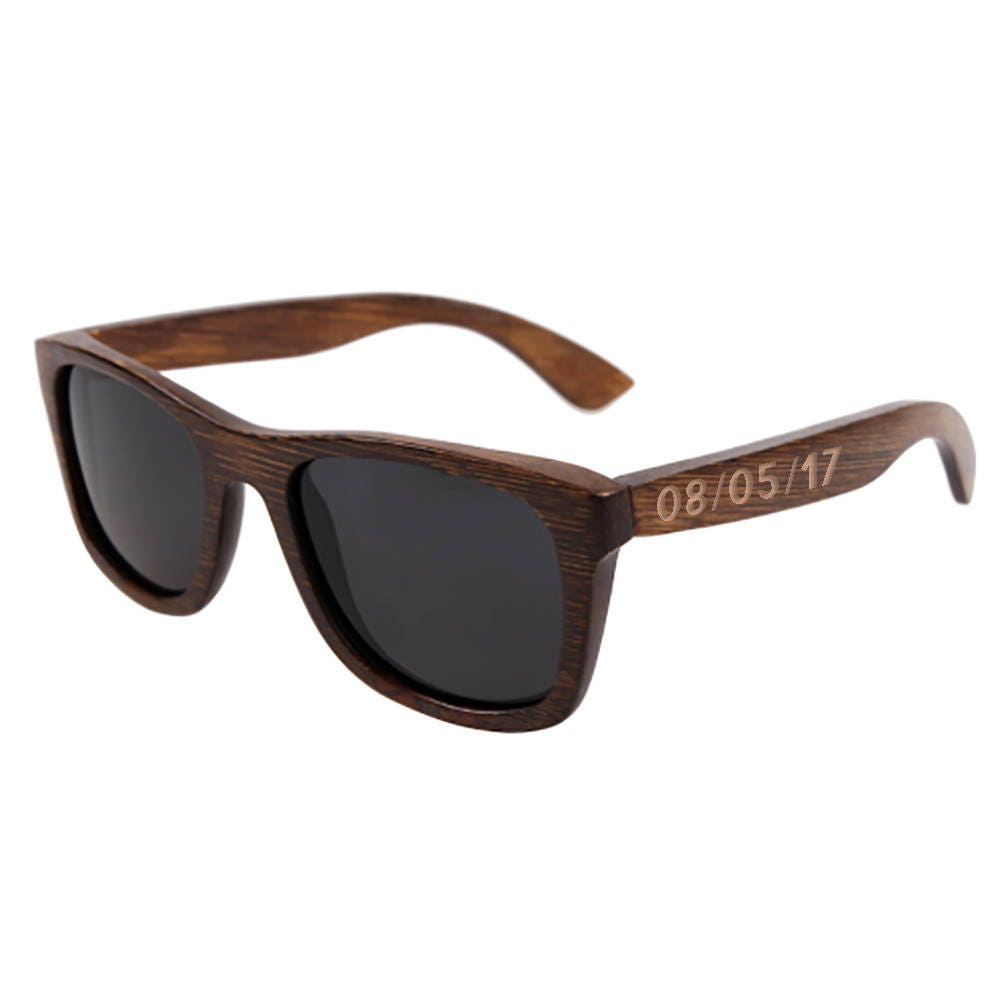 Wedding Sunglasses Custom Wooden Sunglasses Personalized