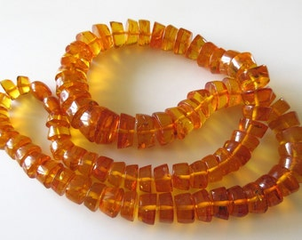 "Natural Rare Amber Jewelry, Amber Beads, Amber Necklace Adult, 10mm To 18mm Beads, 25"" Strand, SKU-2910"