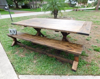 Fancy Farmhouse Table (Local Pick up/Delivery Only!)