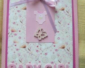 Birthday card girl