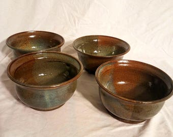 Earthy soup bowls (Set of four)