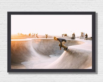 Skate park - Photo of Art framing floater