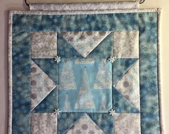Christmas/Winter Quilt Wall Hanging