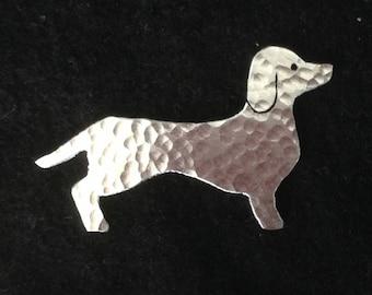 Sausage Dog Brooch.