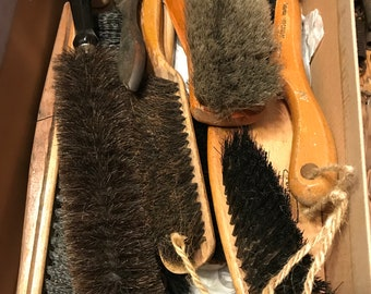 Antique Brush Collection, Fuller Brush, Lint brushes and miscellaneous use brushes