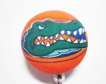 Retractable Badge Reel Florida Gators