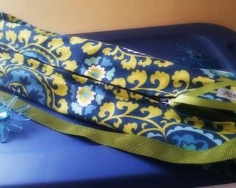 Whimsical Blue/Green Yoga Tote Bag
