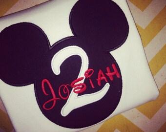 MiCKEY Mouse Shirt - Mickey Birthday Inspired