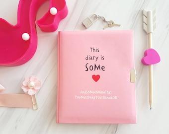 My Diary with Lock and Keys