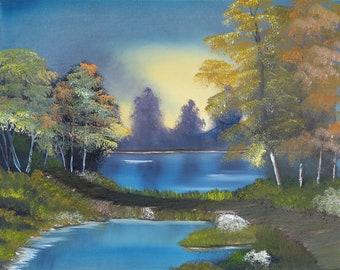 Bright Autumn Trees - c