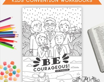 Kids Convention Workbook   JW Gifts   Kids Convention Notebook   Jehovah's Witnesses   JW   Jw Printables   Jw Notebook