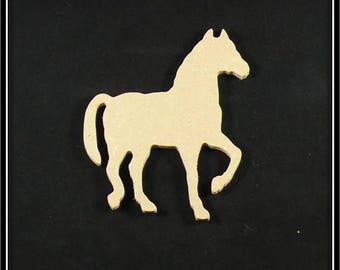 "medium ""horse"" blank shape"