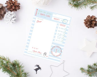 Letter From Santa - Holiday 2017 (Instant Download)