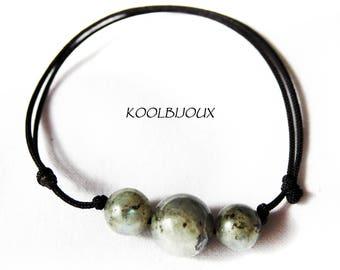 Energy of labradorite Wire Bracelet
