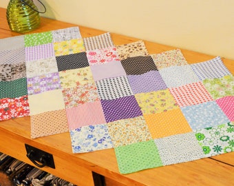 Spring has Sprung Runner - Patchwork Table Runner