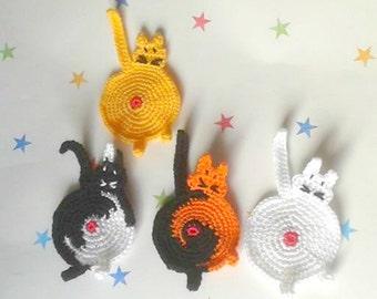 Peeking Cat Bum Coaster, Cat Butt Coaster, Unusual gift, Gag present, Funny Gift, Crazy Cat Lady, cat lover gift, peeking kitten, Best Sell