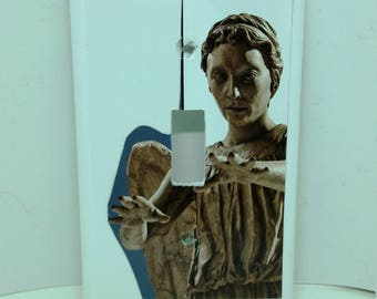 Doctor Who Weeping Angel Light Switch Cover
