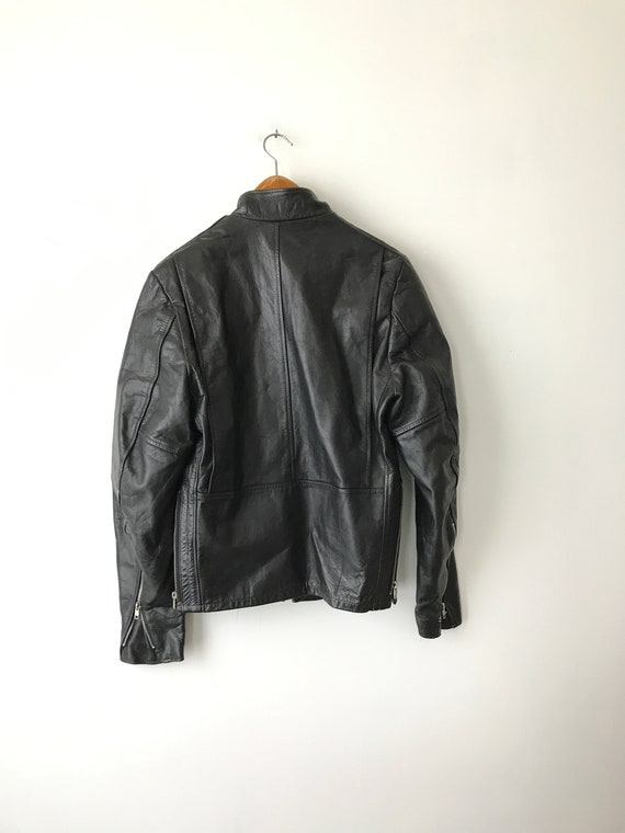 Jacket Biker Jacket 60s Jacket Jacket Davidson Regular Size Leather Leather Leather 60s Jacket Biker 70s Jacket Biker 36 Harley FSwqgExw