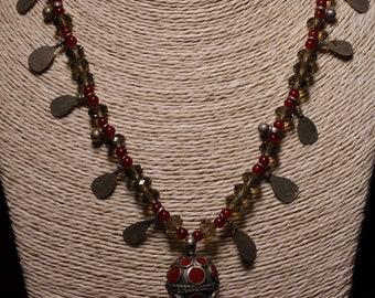 Oriental Style Handmade Necklace