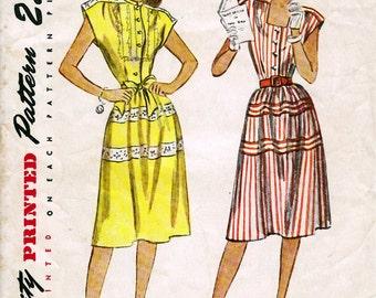 Buste Teen Age robe simplicité 1969 taille de 32-1950 14