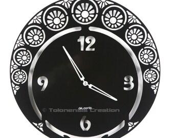 Art Nouveau Clock Metal 40 cm