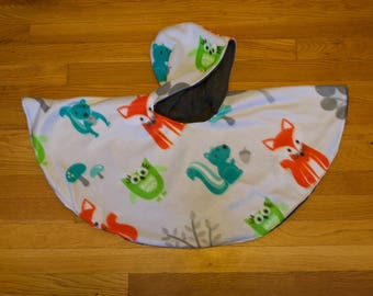 Car Seat Poncho size 12months-24months