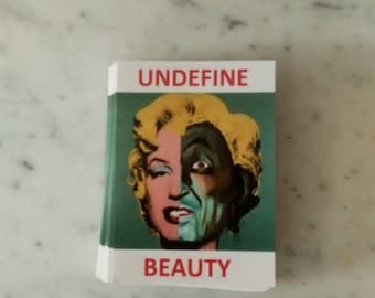 UNDEFINE BEAUTY sticker