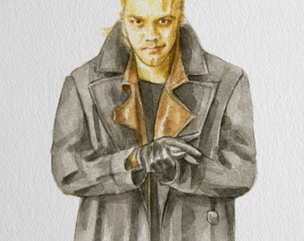 Original Watercolor of David from The Lost Boys