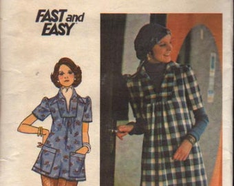 Butterick Pattern 4353 Junior Dress and Top  UNCUT  Size 11