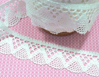 Lace white 4, 2 cm 1 m BW