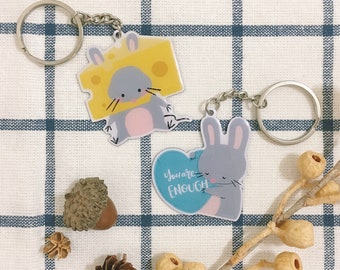 Squeaky Keychain
