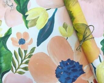 Summer Floral Wrap