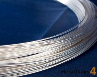 999 Pure Silver Round Wire (Dead Soft)