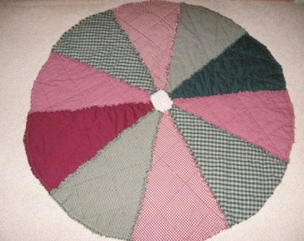 Round Tree Skirt Mailed Paper Pattern by Sew Practical, Mom and Pop Craft