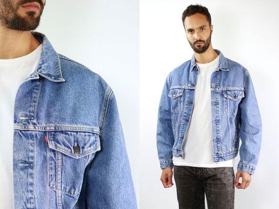 LEVIS Denim Jacket Levis Jean Jacket Denim Jacket Levis Large Jean Jacket 90s Levis Jacket Blue Vintage Denim Jacket Vintage Levis Jacket