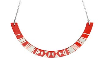 HALO Necklace Red