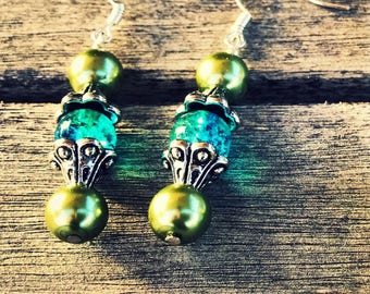 Sicilian inspired earrings