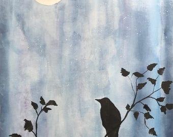 Original watercolor painting 11 x 14 custom UPRISING 140 lbs watercolor paper