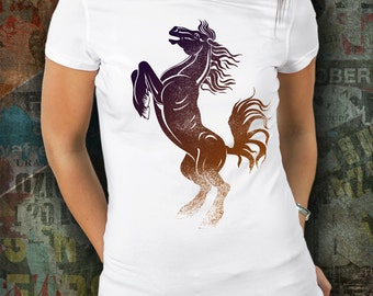 Horse Shirt / Gift for Horse Lover / Bronco Shirt / Rodeo / Horse Clothing / Horse Apparel / Western Shirt / Horseback Riding / Bucking