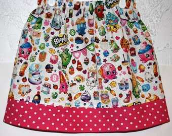 Shopkins Skirt  Size 6 left