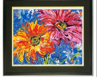 Daisy print, Daisy wall art, Spring Flowers, Gerbera Daisy, garden room art, Garden Flowers,  Framed garden art, honeycomb, by Johno Prascak