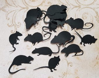 Die Cut Rat Silhouettes... #RAT-22