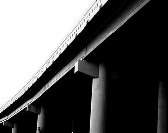 Bridge in Black and White
