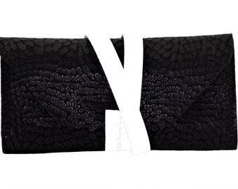 clutch leather pouch, makeup, tartan clutch evening bag design