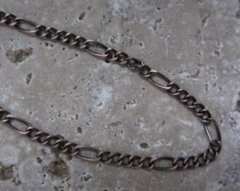 Figaro Chain Antique Copper