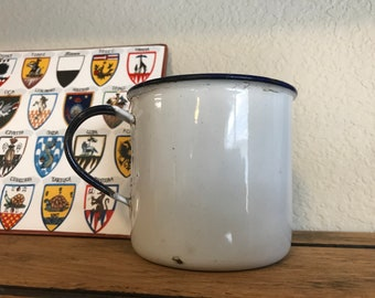Porcelain Camp Coffee Cup